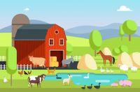 dom-ranczo-budynek-gospodarczy-i-zwierzeta-rolnicze-w-krajobrazie-wiejskim-eco-gospodarstwa-wektor-plaskie-tlo_53562-6320